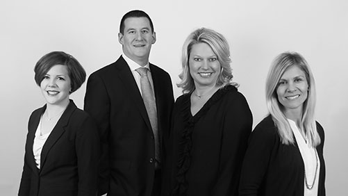 Our eye doctors, Drs. Gentrup, Ackerman, Gulbranson & Hupke <br /> From left to right.